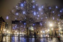 Brussels by Lights - Agoraplein - klik om te vergroten
