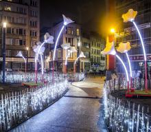 Brussels by Lights - Fontainasplein - klik om te vergroten