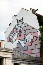 De Kat (Geluck) - Zuidlaan - klik om te vergroten