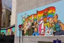 LGBT (Ralf König) - Lollepotstraat - klik om te vergroten