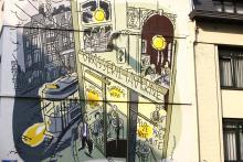 Johan (Dupuy & Berberian) - Bogaardenstraat - klik om te vergroten