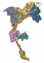 Algemene kaart wijken Stad Brussel - klik om te vergroten