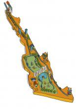 Kaart van de wijk Louiza - klik om te vergroten