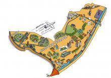 Kaart van Neder-Over-Heembeek - klik om te vergroten