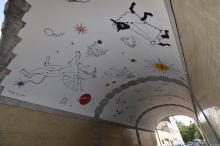 'La Voie lactée' - Sallaerttunnel - klik om te vergroten