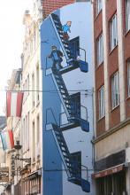 Kuifje (Hergé) - Stoofstraat - klik om te vergroten
